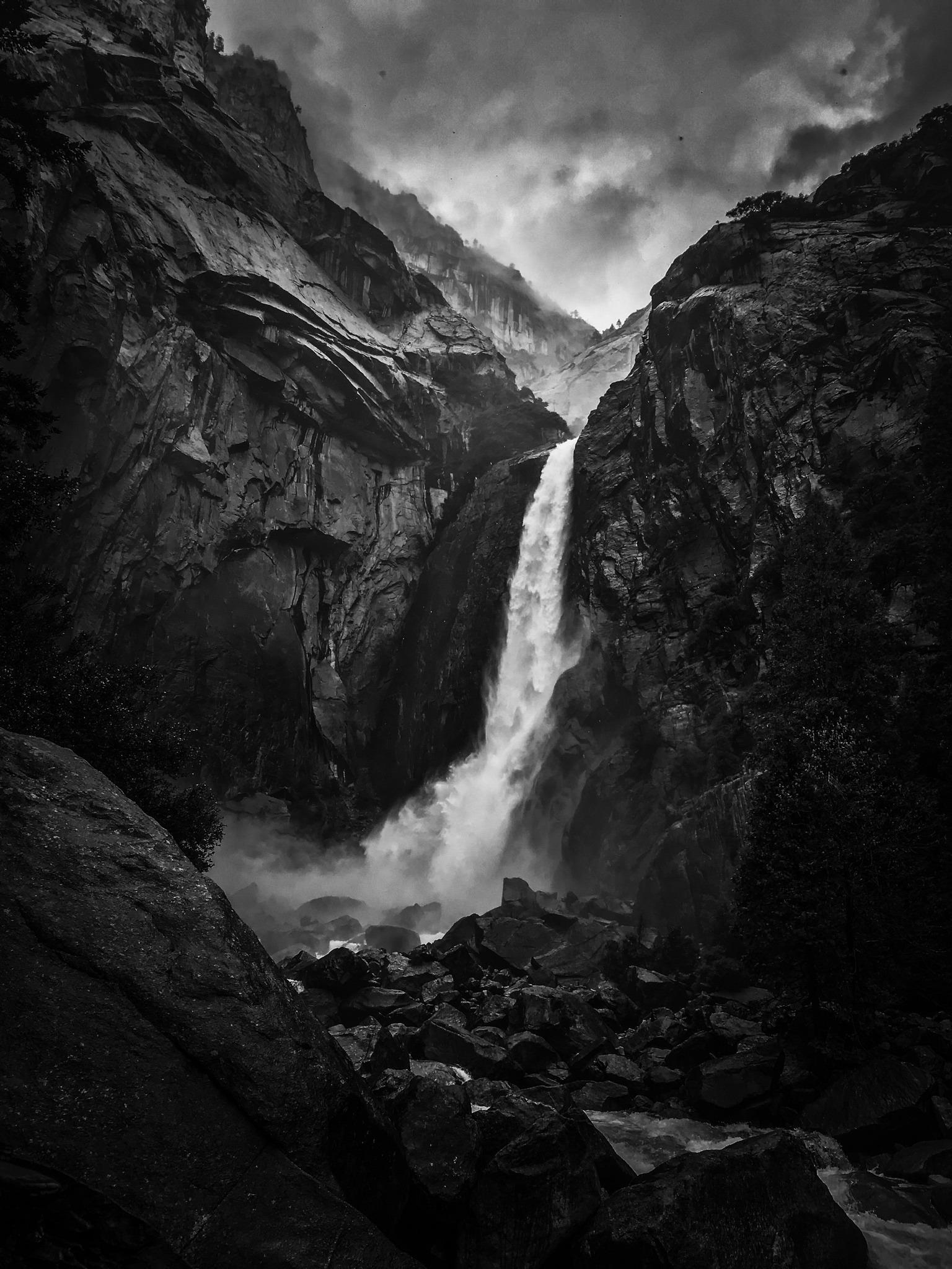 Lower Yosemite Fall. Photo: Felicia Avendano