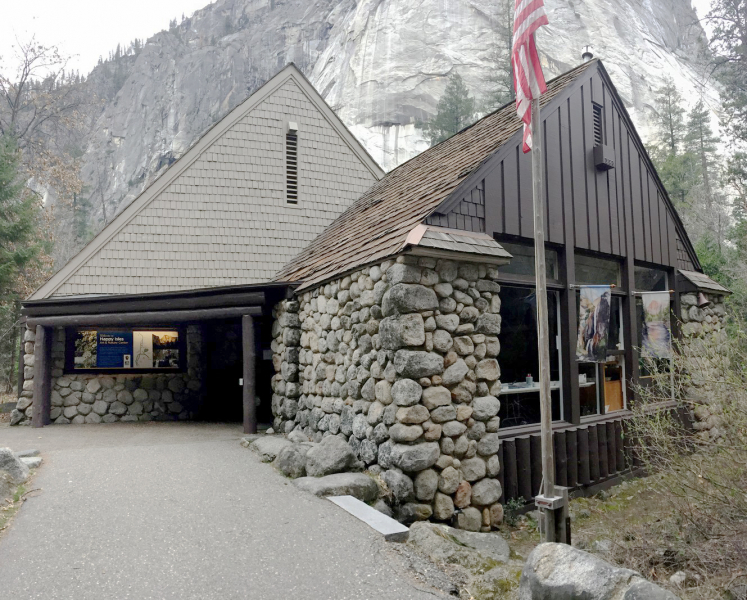 The Happy Isles Art and Nature Center is housed in a historic stone structure that once served as a fish hatchery. Photo: Yosemite Conservancy/Kristin Anderson