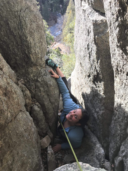 Whether hiking, climbing or facilitating group discussions, Sonia draws on her passion for the park to help others connect with the outdoors.