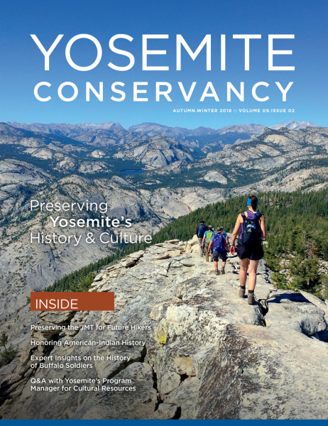 Autumn Winter 2018 Yosemite Conservancy Magazine